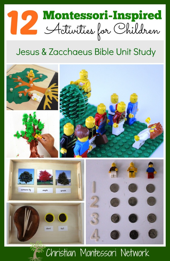 PicMonkey Collage - Jesus & Zacchaeus