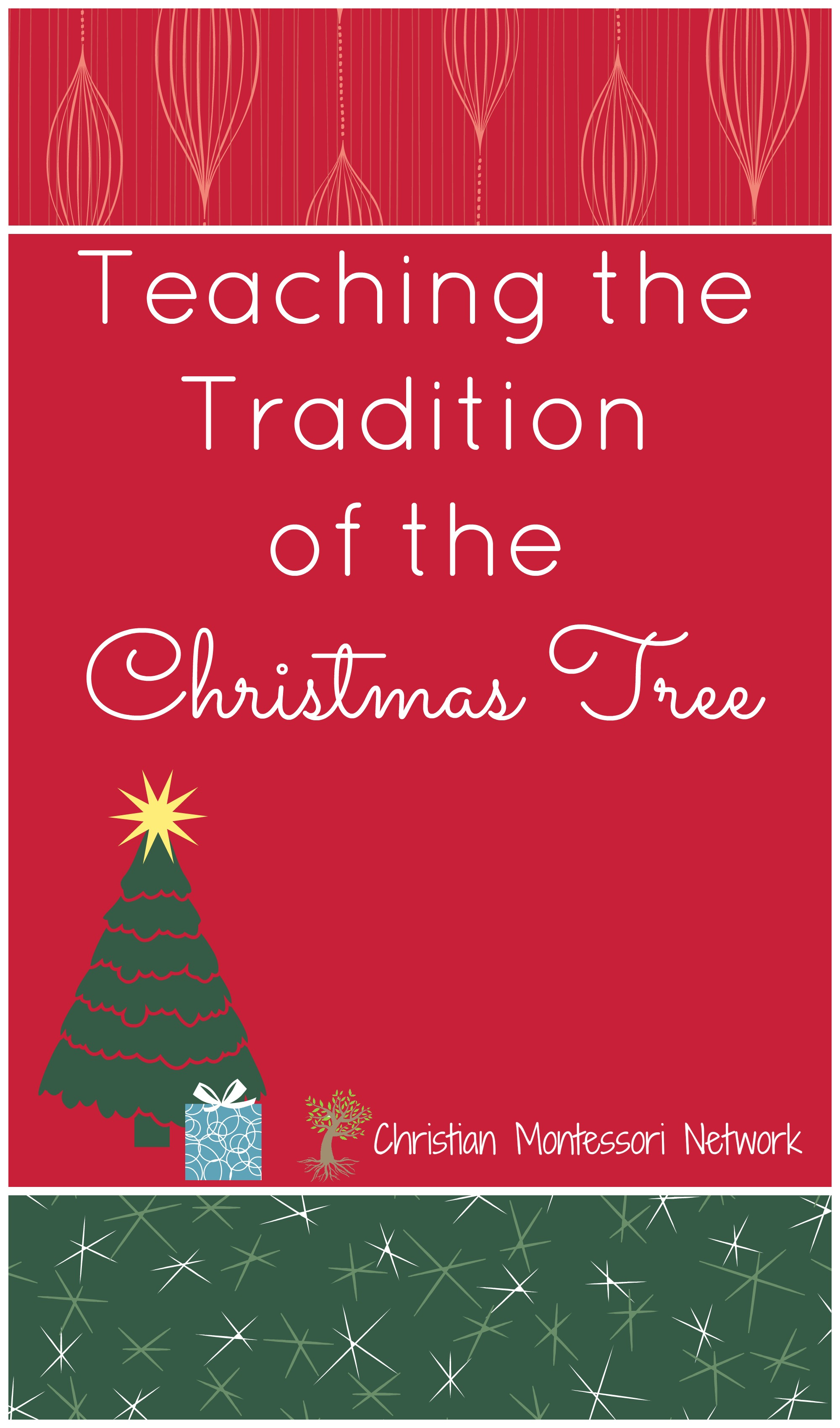 Do you love decorating your Christmas tree? This year use it to help teach children