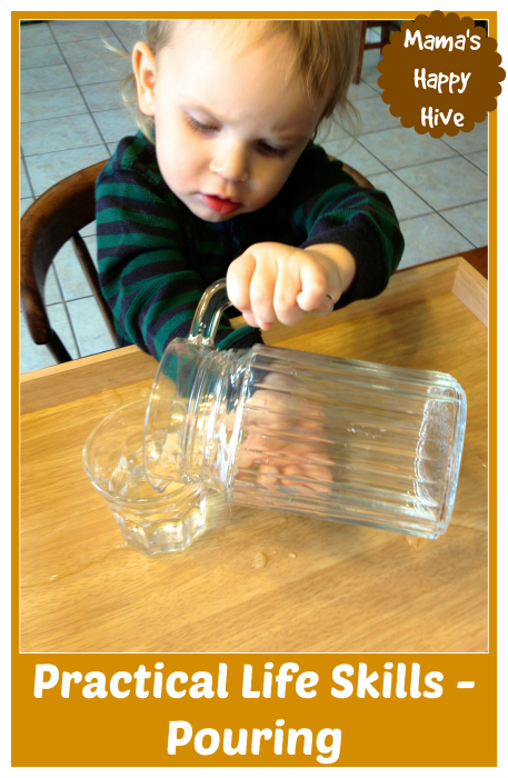 Montessori Inspired Kids Bible Activities - Practical-Life-Skills-Pouring-www.mamashappyhive.com_
