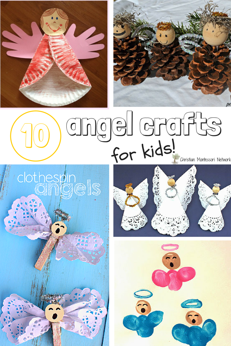 10 Angel Craft for Kids - Bible School Craft Ideas