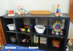 Montessori Inspired Baby Play Space