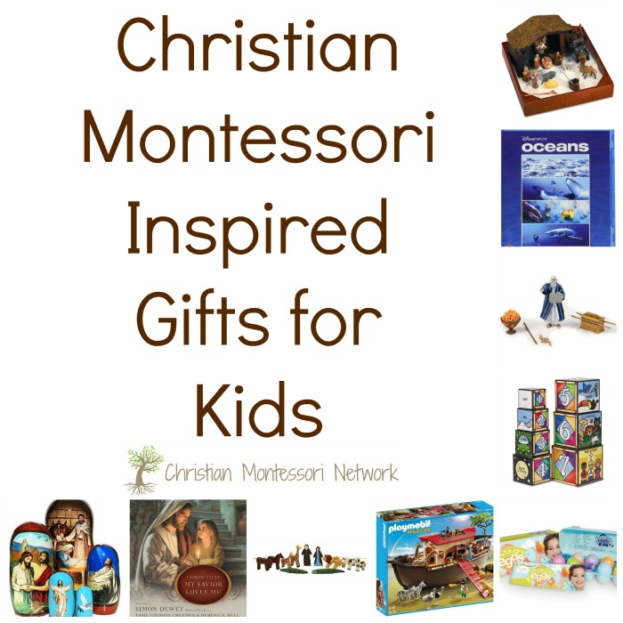 Christian Montessori Inspired Gifts for Kids