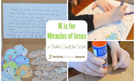 M is for Miracles of Jesus