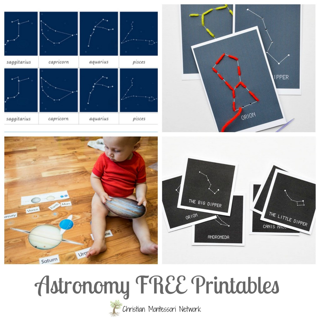 Awesome list of free printables for Christian astronomy.