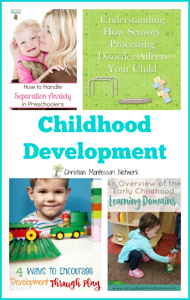 This is a great list of posts for learning more about childhood development. Christian parenting for christian parents!