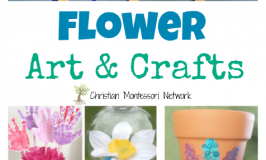 Flower Art and Crafts {Learn & Play Link Up}