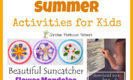 Summer Activities for Kids {Learn & Play Link Up}