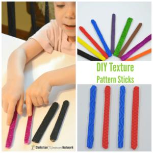 DIY Texture Pattern Sticks