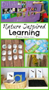 Nature Inspired Learning {Learn & Play Link Up}