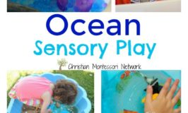 Ocean Sensory Play {Learn & Play Link Up}