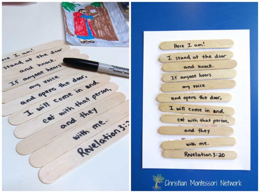 Scripture memory is an essential skill for young Christians to learn. Start with this easy to make scripture memory puzzle!