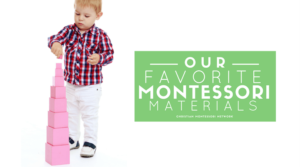Our Favorite Montessori Materials Through the Ages