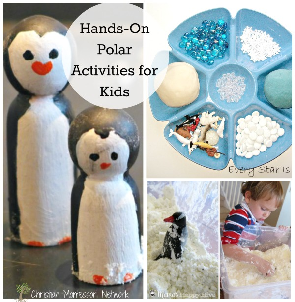 Hands On Polar Activities For Kids Christian Montessori Network
