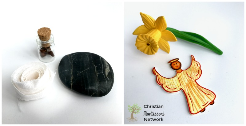 DIY Easter Resurrection Miniatures on Christian Montessori Network