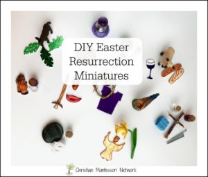 DIY Easter Resurrection Miniatures